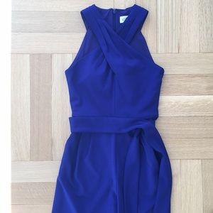 NEW Eliza J Cobalt Blue Jumpsuit Size 2